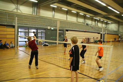 Volleybal clinic of smashbal